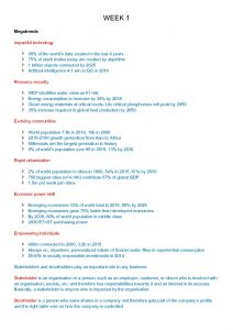 Future of Business (BUSS1000) complete notes