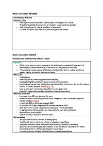 Introduction to Sociology 2 (SCLG1002) comprehensive summaries