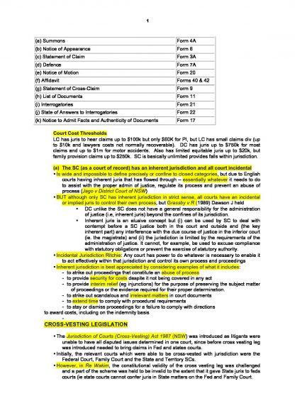 LPAB 15 Practice and Procedure (LEC) full notes