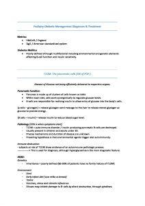 PODY605: Podiatric Management of Diabetes in Aotearoa summary