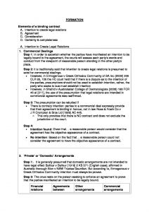 LAW 1503: Contracts comprehensive summary notes