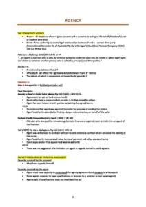 Commercial Law (LAWS3950) full course notes