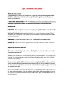 Law for Commerce (MLC101) complete HD notes