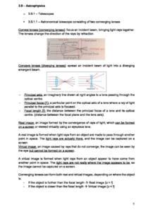 Astrophysics – AQA A Level Physics (7408) Option A (3.9) complete notes