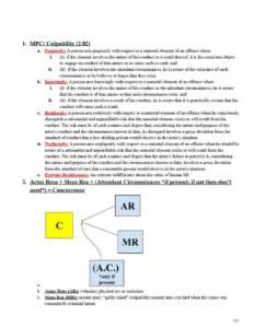 Criminal Law (LAW 500) course outline