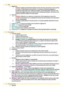Dispute Resolution (LAWS50027) H1 summary notes