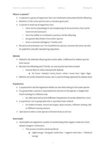 Ecology: IB Biology Topic 4 (SL and HL) complete notes