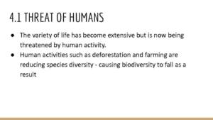 Topic 4: Biodiversity and Natural Resources notes – Edexcel A Level Biology A (Salters-Nuffield)