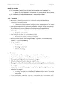 Evolution and Biodiversity: IB Biology Topic 5 (SL and HL) complete notes