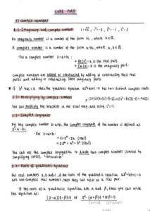 Further Core Pure Mathematics – Edexcel AS Further Mathematics (Year 1) complete notes