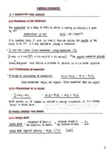 Further Mechanics 1 – Edexcel A level Further Mathematics (Year 2) complete notes