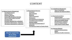 IB Business Management SL & HL Unit 2: Human Resource Management revision