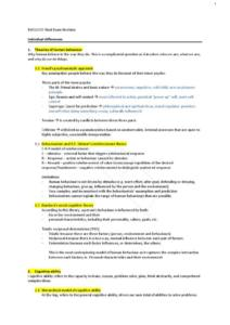 Leading and Influencing in Business (BUSS2000) final exam notes