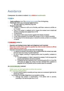 Contract Law (LAW10011) Swinburne exam notes