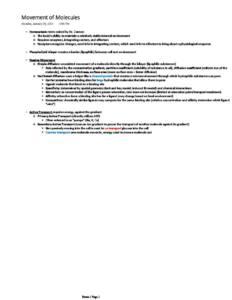 Human Physiology (BIO 3322) exam 1 notes