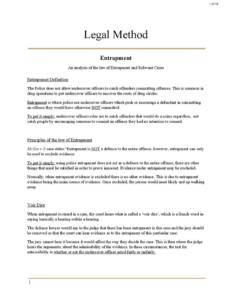 Legal Method (LAW 131) revision notes