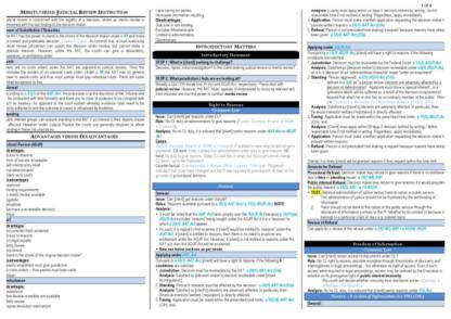 Administrative Law (LAWS5010) sample notes