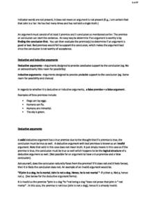 Critical Thinking in Psychology (PY1103) full summary HD notes